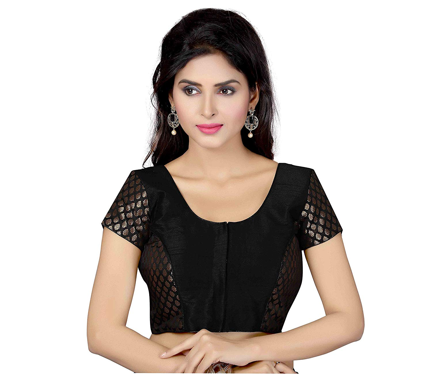 cf0db451d8bd9a Get Quotations · TrendyFashionMall Readymade Bollywood Style Silk Saree  Blouse Collection!
