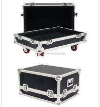 Flight Case for Compact Line Array Speakers with Casters