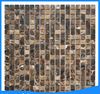 living room rustic mix color marble stone mosaic tile