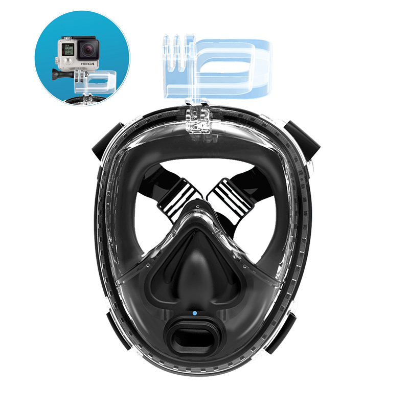 2019 Shenzhen RKD 2nd Generation Full Face 180 Panoramic Snorkeling Mask