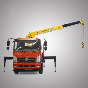 4 Ton Mini Truck Mounted Knuckle Boom Crane For Sale