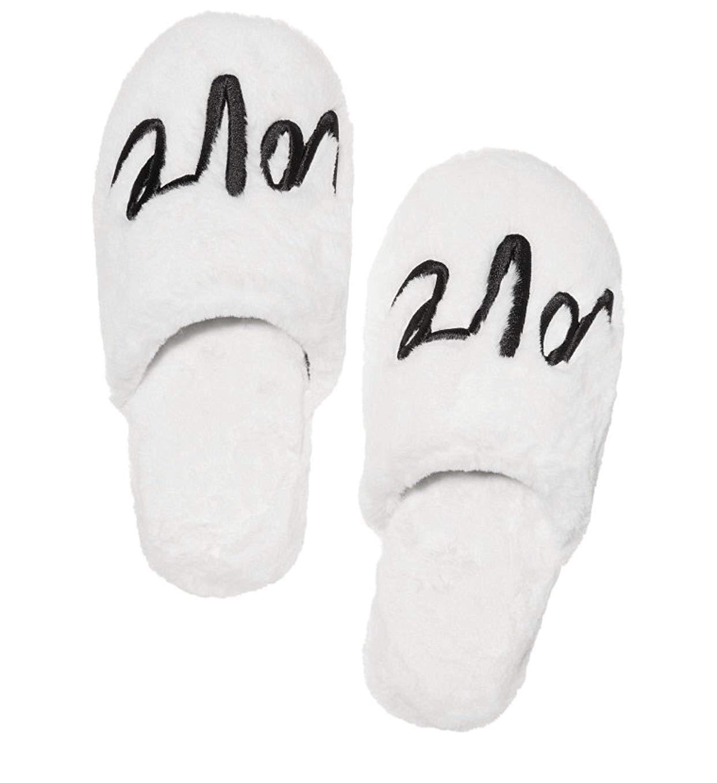 4098d289c1915 Buy Victoria's Secret Pink Comfort Crossover Slides Sandals Black ...