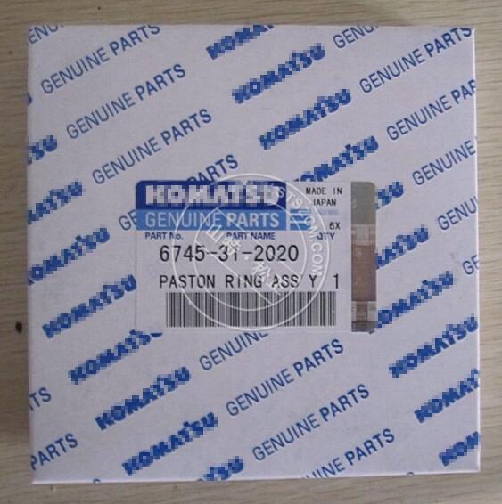 6745-31-2020 D65ex-16 Piston Ring Bulldozer Engine Parts