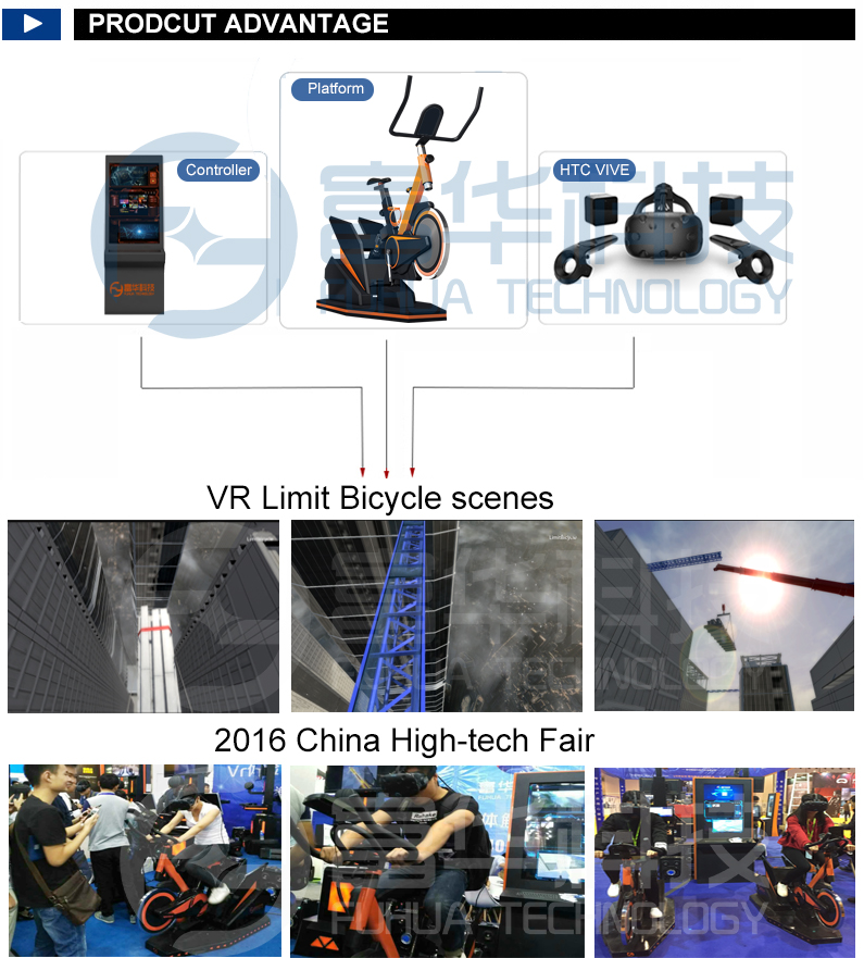 Best Selling 360 Vr Bike Oem Odm Xunishijie With Quality And Low