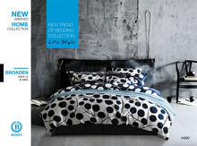 NEW DESIGN 205TC TWILL COTTON REACTIVE PRINTING BEDDING SETS S-BRD-990