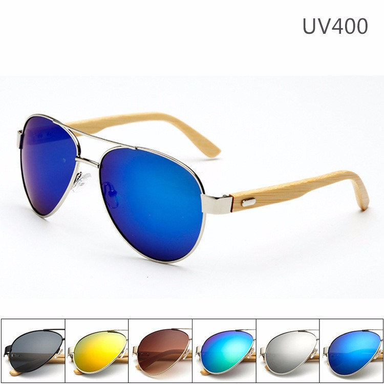 Dropshipping China Women Men Glasses Sun Sunglasses 2016 Wooden <strong>Bamboo</strong> sg20032