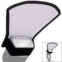 Hot Sale Universal Flash Diffuser Soft box White Reflector Speedlite Photography Studio Photo Free Shipping