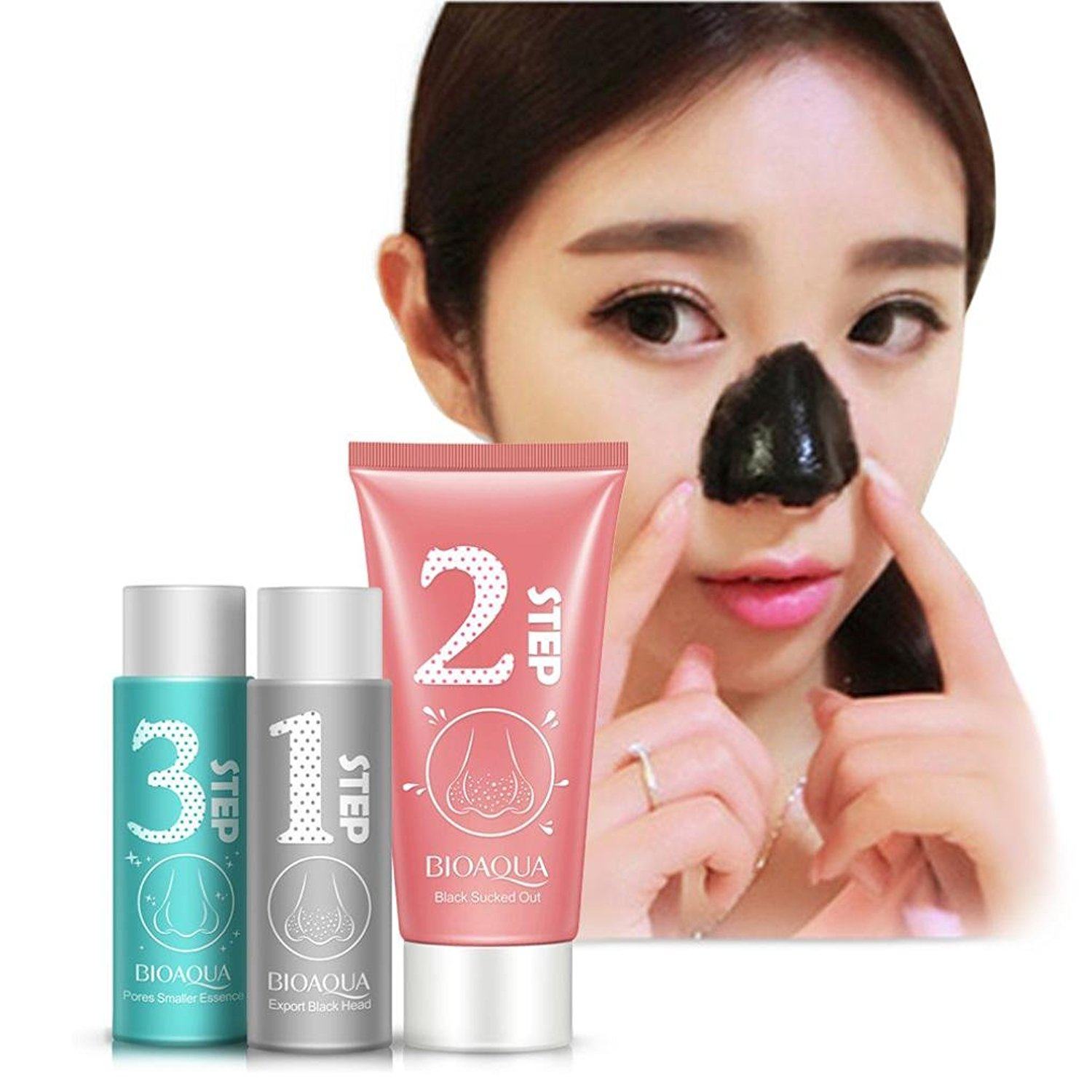 Ecosin Black Mud Deep Cleansing Pilaten Blackhead Remover Purifying Peel Face Mask Blackhead Remover Mask