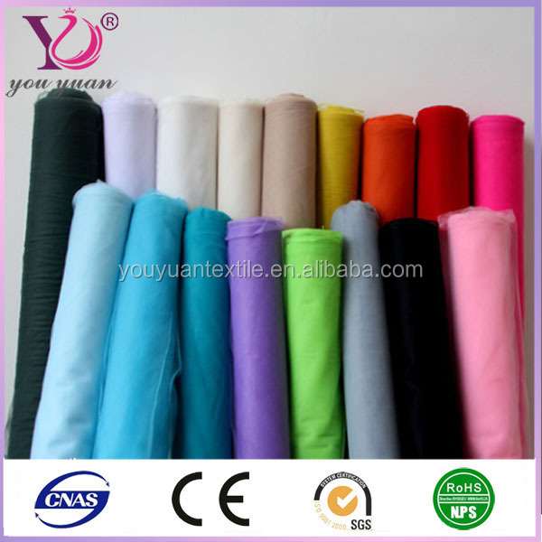 Tissue micro tulle polyester mesh fabric for dancewear lining fabric