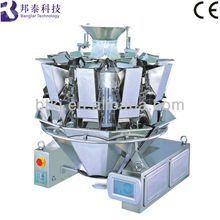 Best Sell Showerproof Multihead Hopper Weighing Machine of Packaging Machine For Cookies/Biscuit