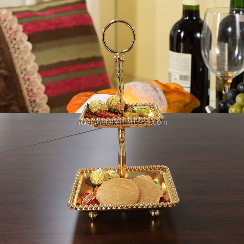 Hquality decorator for wedding mirror tray hospitality industry suppliers