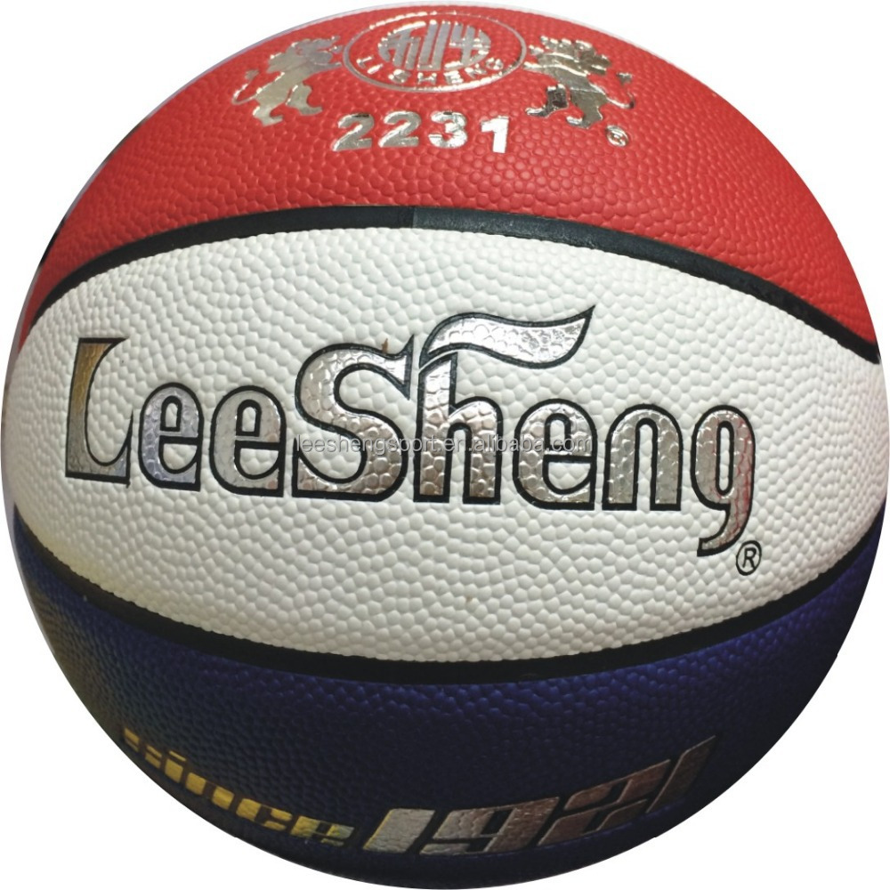 Top quality Colorful PU basketball leather ball