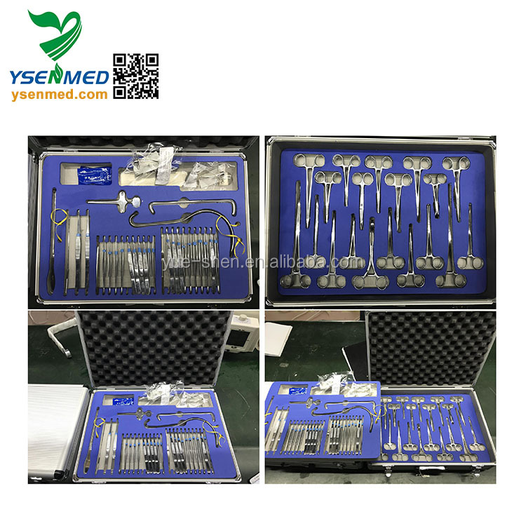 W-BZ Best Price Best Quality Medical Operation General Surgical Instruments Set