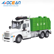 Factory toys 4channel remote control city garbage truck toy rc truck for kids