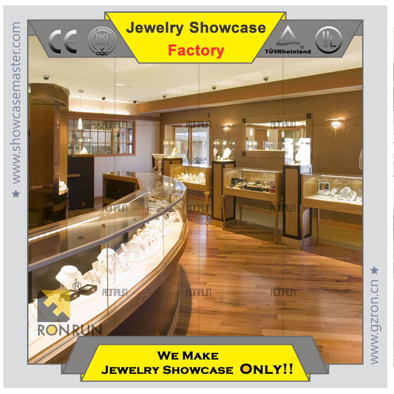 2017 New Design Fancy Jewelry Stylish Interior Ideas Shop Showcase Furniture