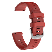New Arrival Colorful Soft Silicone Replacement Strap for Garmin Forerunner 245 Smart Watchband