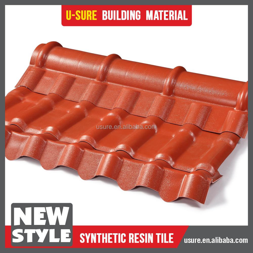 Pl stico casa techos larga duraci n de bamb tejas calor - Techos de plastico ...