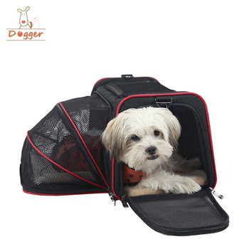 35b7d57a6dc airline approved expandable pet carrier for small dogs ebay dog travel bag