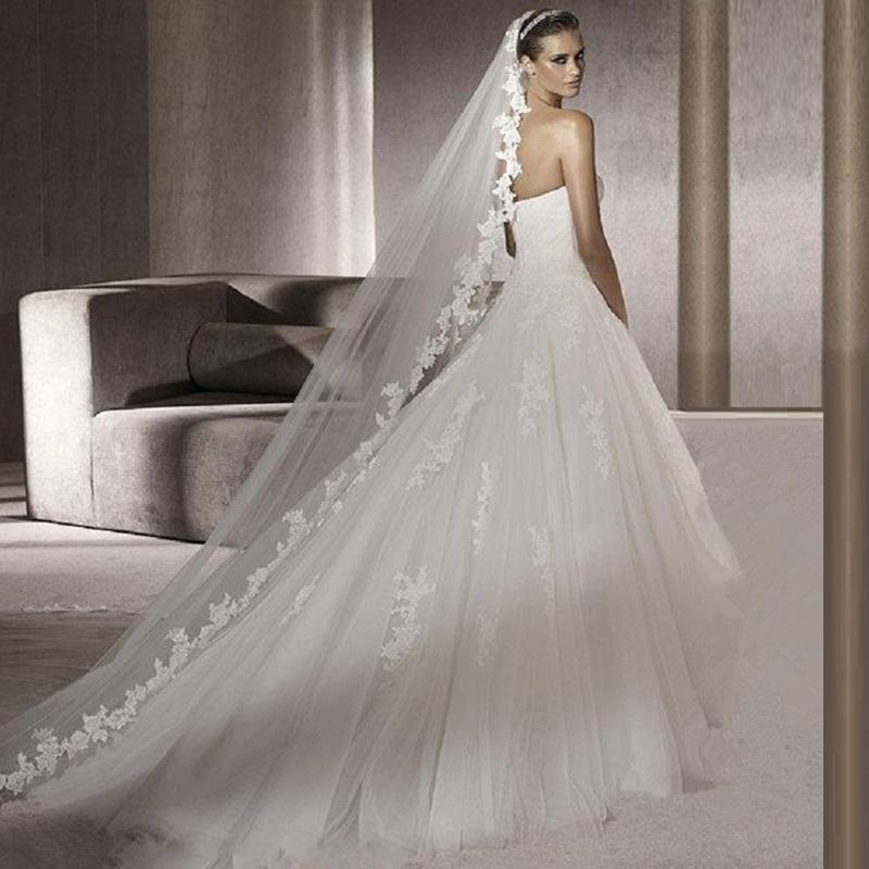 Styles Of Wedding Veils: Aliexpress.com : Buy Summer Style Bridal Veil 2015 3