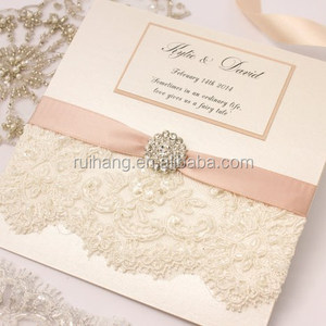engagement handmade lace girl printable wedding invitation cards