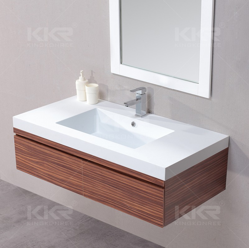 Integrated Wall Mounted Solid Surface