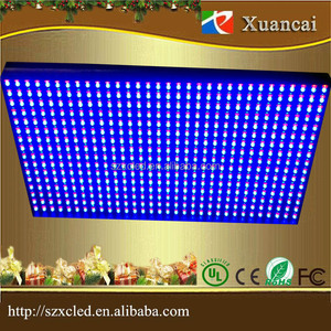 Dual Color RB P10 16x32 dot outdoor led display screen module