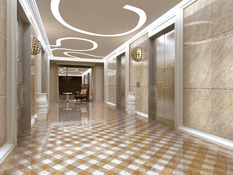 Custom Fit Good Idea Hotel Lobby Marble Floor Design Buy