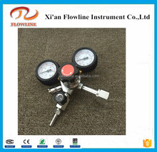 High quality machine grade low pressure air regulator with gauge With Bottom Price