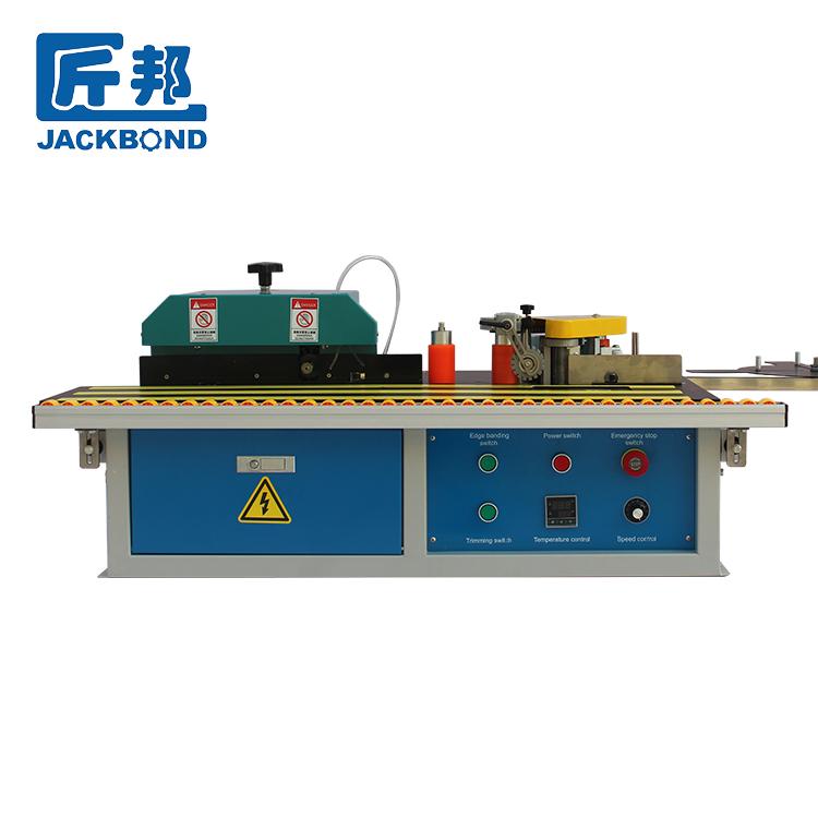 Jackbond ตารางด้านข้าง 220v110v ความร้อนอุปกรณ์ไม้แผง mechanical ขอบแถบเครื่อง