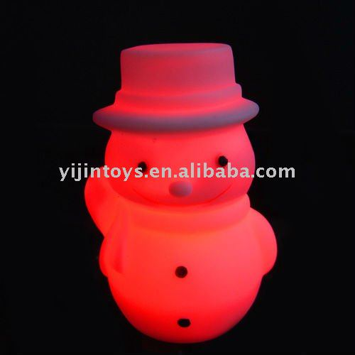 Cheap snowman toy with Led