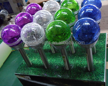 Ordinaire Glass Ball Stake Solar Light,multi Colored Solar Garden Lights High Quality Multi  Colored Solar