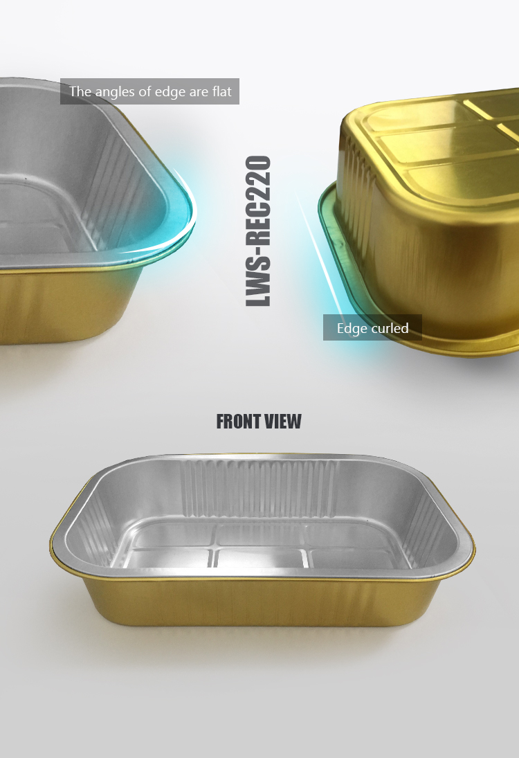 smoothwall aluminium foil trays for kitchen