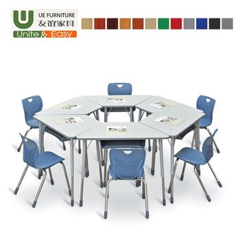 Terrific Trapezoidal Plastic Table Furniture Kindergarten Desk Cheap Combined Trapezoid School Desk And Chair Sets For Sale Buy Comfortable China Oem Odm Inzonedesignstudio Interior Chair Design Inzonedesignstudiocom
