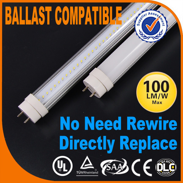 Instant Fit Led Tube Light Rapid Start Frosted Cover 4000k/5700k ...