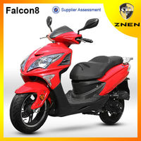 2017 new hot sale scooter 50cc moped gas scooter Falcon8 (Patent gas scooter ,EEC, EPA, DOT)
