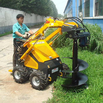 gasoline small post hole digger for tree planting