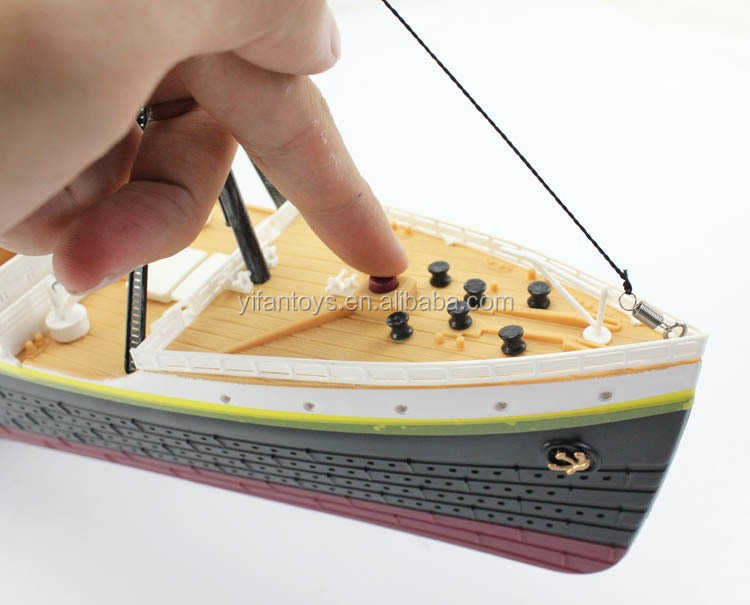 Scale RC Titanic Boat Ship Model TOYS With Light And Music - Cruise ship toys for sale