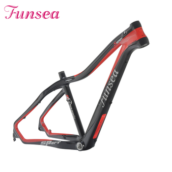 China manufactory high quality Carbon T700 supplies 29 inch mtb bike frame / high-end e bike frame carbon road bike frame