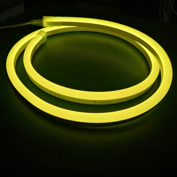 240V 3M Flexible Mini Neon Flex luz de la cuerda Iluminación sólido impermeable señalización Hazlo tú mismo
