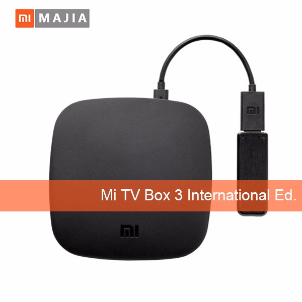 Original Mi <strong>Box</strong> 3 Android 6.0 TV <strong>Box</strong> 2G/8G Dual WiFi Kodi Smart TV IPTV <strong>Media</strong> Player <strong>Set</strong> <strong>Top</strong> <strong>Box</strong> Support DTS Voice