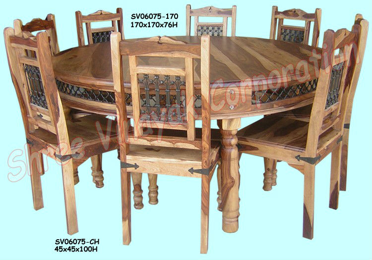 Wooden Dining Table Set Sheesham Wood Furniture Buy Sheesham Wood