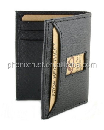 472ebb07a79 Slim thin travel wallet elastic money band genuine leather men s wallet