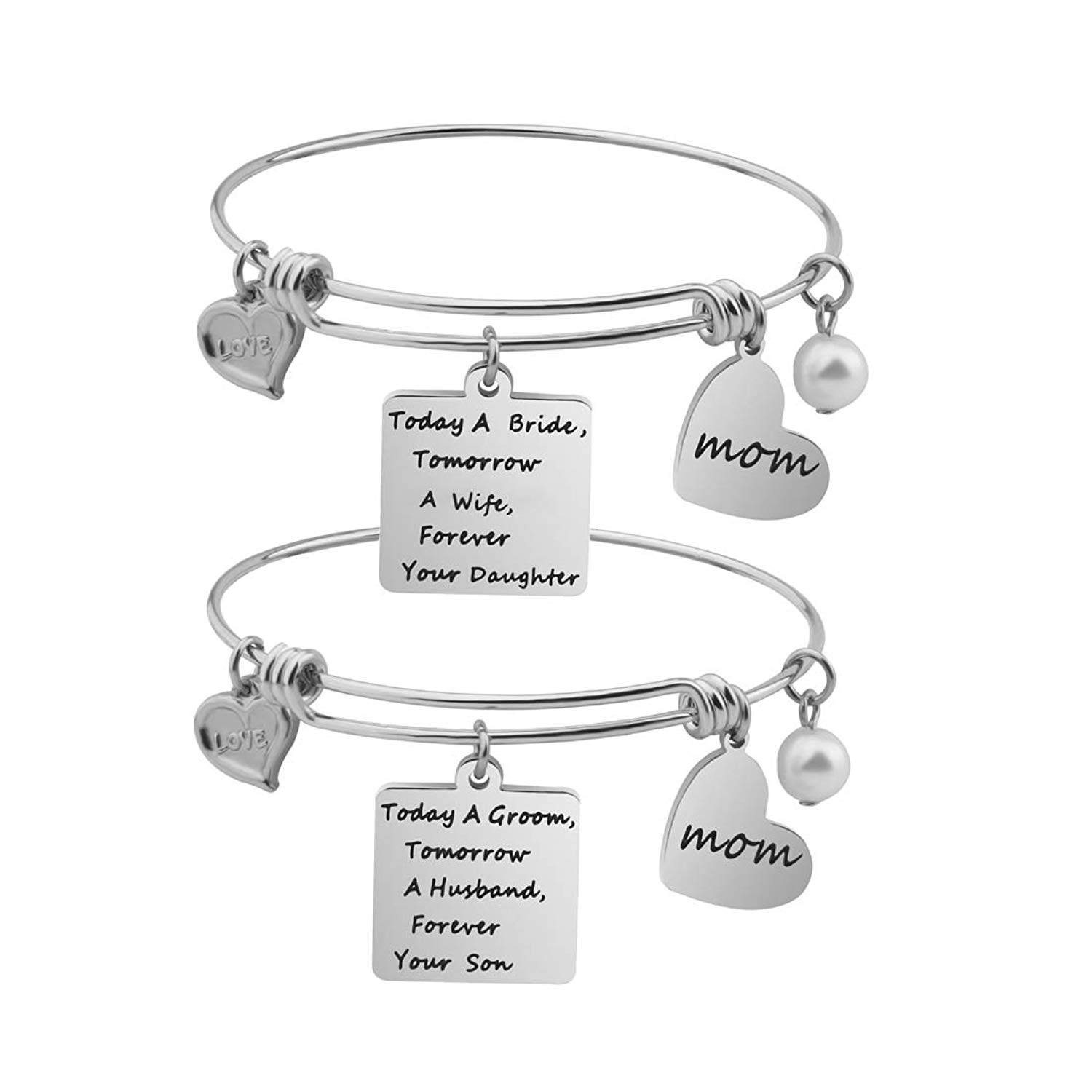 get quotations gzrlyf mother in law bracelet mother in law gift wedding bracelet mom bracelet father in law