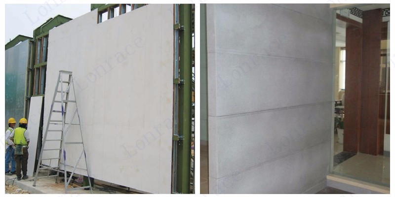 6mm calcium silicate panels waterproof fireproof heat insulation interior and exterior decoration wall board