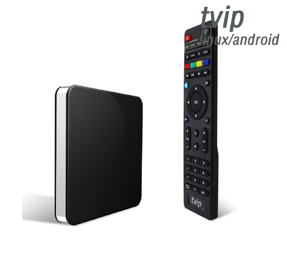 Original Factory Direct Supply TVIP 605 Dual OS Android 6.0 Linux 4K TV Box TVIP Box 605