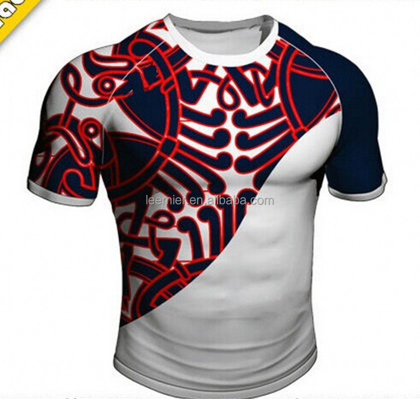 2cdfaa1342b9 Custom Design Stretch Rugby Jersey - Buy Stretch Rugby Jersey ...