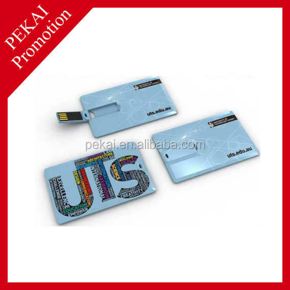 New products credit card shape usb memory stick for promotional gift china supplier