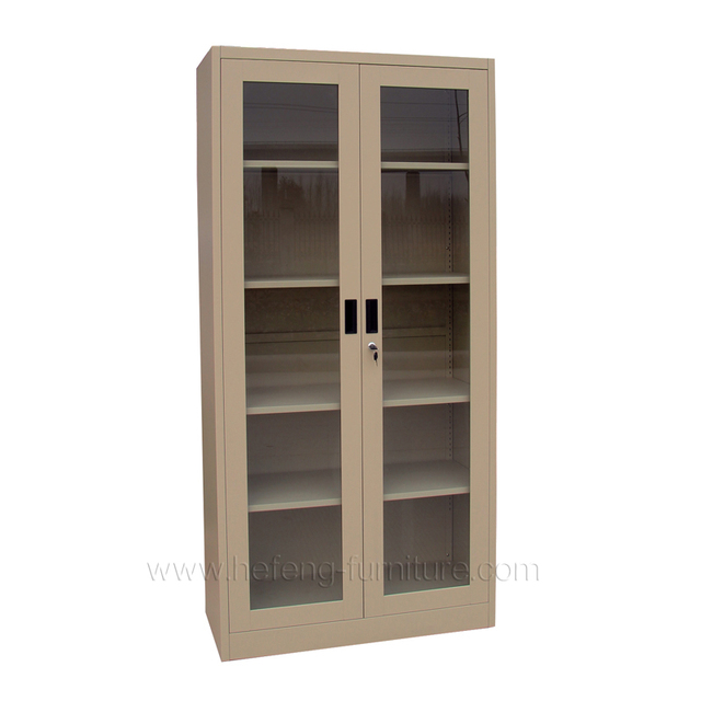 Library Cabinet Gl Doors
