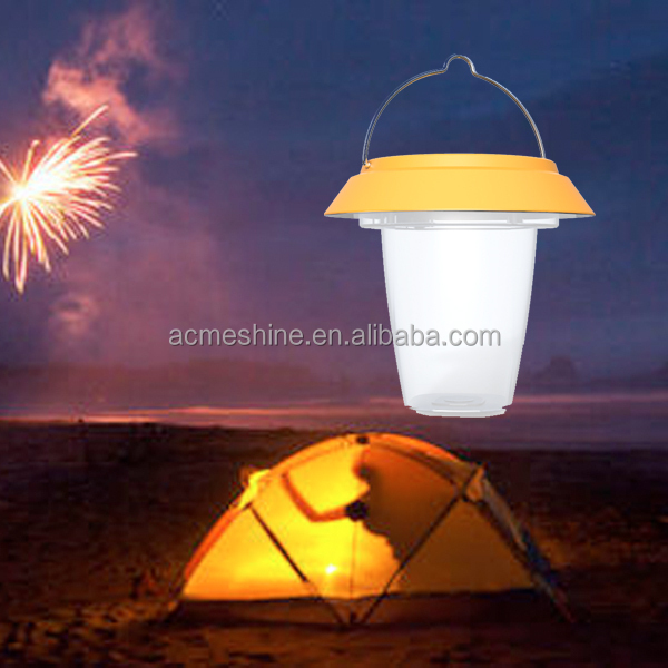 High bright LED camping light,solar camping lantern, solar camping light with 0.6W poly silicon solar panel
