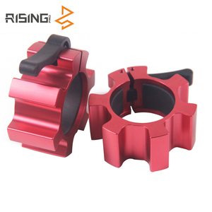 Gym Fitness Weight Lifting Barbell Clips Clamp Collar